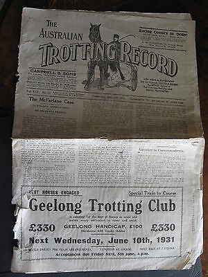 The Australia Trotting Weekly       JUNE 3 1931