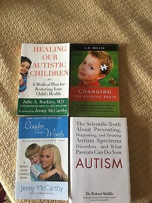 Autism Book Lot Therapies, Healing, Support, Personal Stories, Recovery Biomed