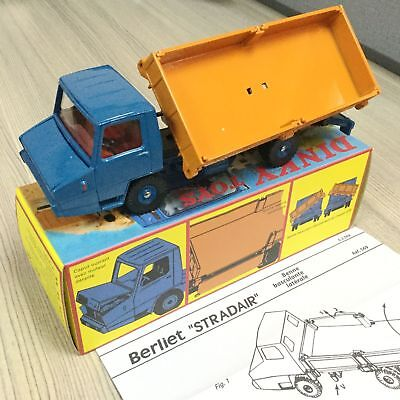1:43 Atlas Dinky Toys 569 Berliet Stradair BENNE BASCULANTE LATERALE CAR MODEL