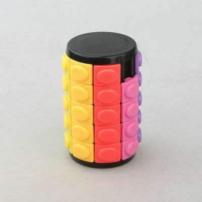 HMQC Newest X CUBE Color Mini 5 Layers  Rotate and slide puzzle Toy gift Black