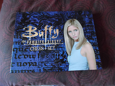 Collectable Buffy The Vampire Slayer Chess Set Very Good Condition