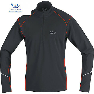 Gore Running Wear Essential Thermo Zip T-shirt manches longues Homme