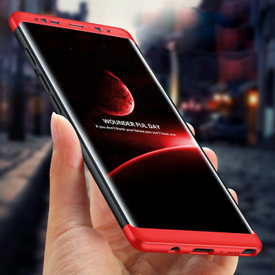 For Samsung Galaxy Note 8 / S8 Plus 360° Full Protection Hybrid Armor Case Cover