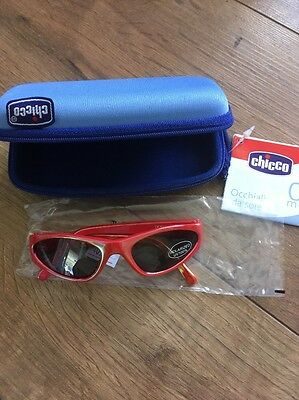 Chicco baby / kids sunglasses polarised UV100% age 0 months +  with case