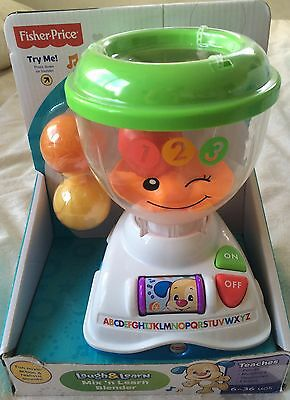 Fisher Price Laugh & Learn Mix 'n Learn Blender ~ New In Box