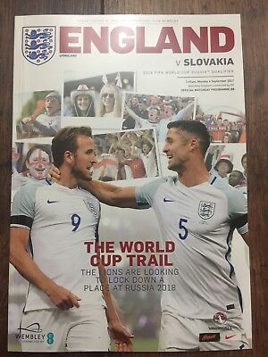 ENGLAND v Slovakia Played at Wembley 04/09/2017 (World Cup 2018 Qualifier)