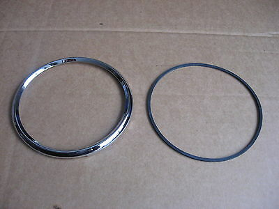 Daimler Conquest Century DHC Roadster Large Instrument Chrome Rim & Seal