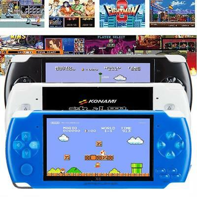 Portable 8GB 4.3'' PSP Handheld Game Console + 10000 Games Built-In + Camera R66