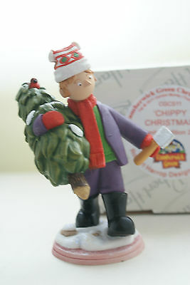 Chippy Christmas Limited Edition Of 250 Cgcs11 Minton Trumpton Robert Harrop Mib