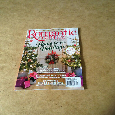 Romantic Country Winter 2017 Festive Shabby Chic Vintage Salvage Cottage Style