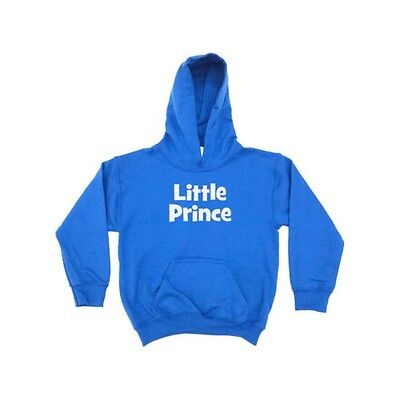 Little Prince KIDS HOODIE Childrens Girls Boys Clothing Birthday Present Gift