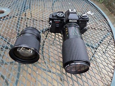 Ricoh KR-10 camera with a Britek 28-80mm and Sirius 80-200mm lens