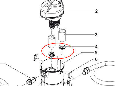 OASE rastplatte for PondoVac 3+4 Original Spare Part 27183