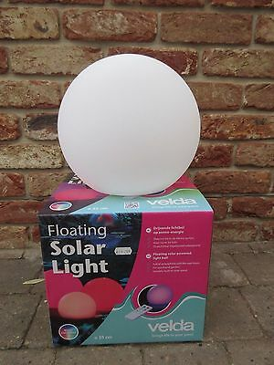 Velda Floating Solar Pond Light 25Cm