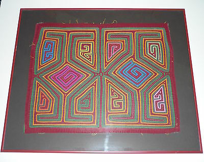 Old Central American Tribal Textile – Geometrics