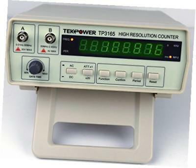 tp3165, intelligent frequency counter 0.1hz to 2.4ghz, with high resolution oem