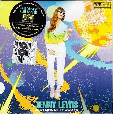"""Jenny Lewis - Just One Of The Guys ( Pax-Am Sessions ) - 7"""" Green Vinyl 45 - New"""