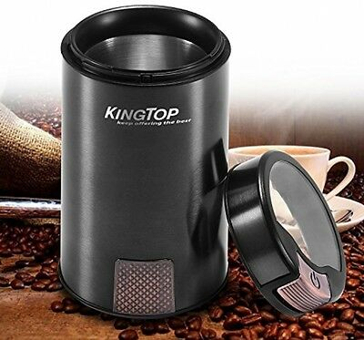 Electric Nut and Spice Grinder Stainless Steel Blade For Coffee Herb Pepper