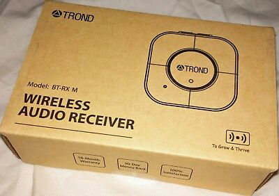 TROND 3.5mm Bluetooth v4.2 AptX Low Latency Audio Receiver Headset Mic Adapter