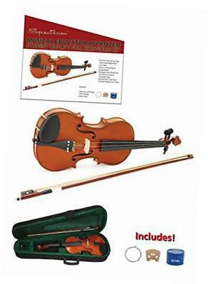 ail 201v full size music educator approved violin pack with case and