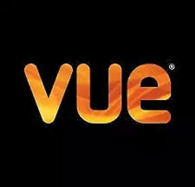 Vue Cinema Tickets (non- London) X3 for any 2D Film ANY TIME ANY DAY