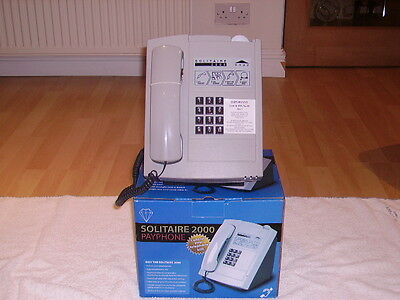 New  Solitaire 2000 Payphone With 1 Year Guarantee Takes New £ Coin  March 2017