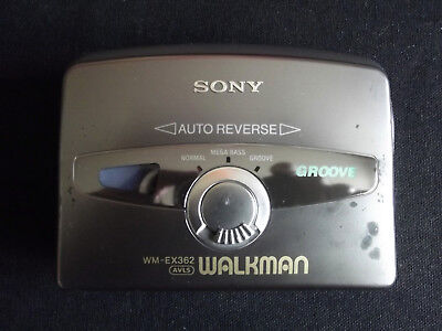 Sony WM-EX362 Walkman Cassette Player - working