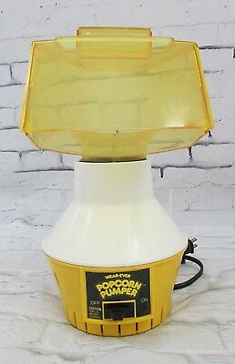 Wear Ever Popcorn Pumper Hot Air Popper Coffee Roaster 73000 No Butter Tray