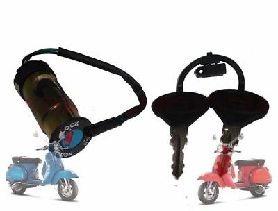 Vespa Px Lml Star Stella  Steering Look & Ignition Switch @de