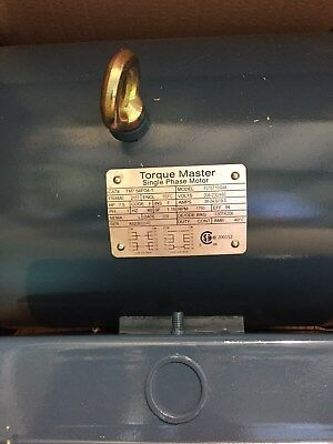 TM 7.5HP Electric Motor-1800-1 Phase/60/230-460 215T