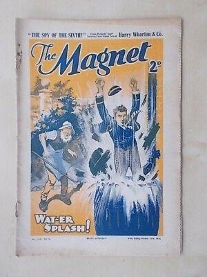 THE MAGNET - BILLY BUNTER'S OWN PAPER - VINTAGE BOYS COMIC - OCTOBER 19th 1936