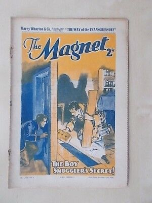 THE MAGNET - BILLY BUNTER'S OWN PAPER - VINTAGE BOYS COMIC - DECEMBER 12th 1936