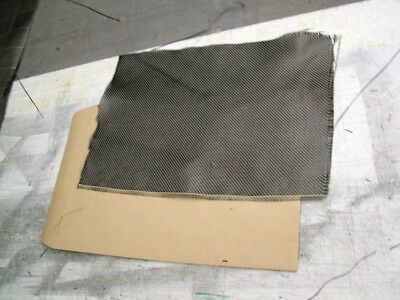 """REAL CARBON CLOTH SAMPLE  approx A4  ( 10"""" x 8"""" )"""