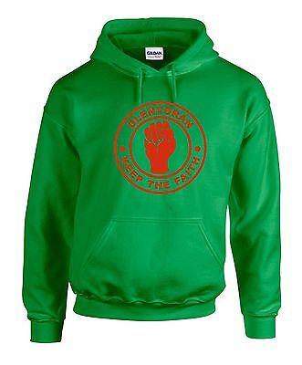 Glentoran Ulster Fans Themed Keep The Faith Northern Soul Hoodie All Sizes