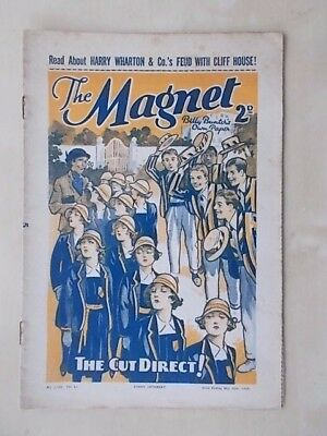 THE MAGNET - BILLY BUNTER'S OWN PAPER - VINTAGE BOYS COMIC - MAY 29th 1937