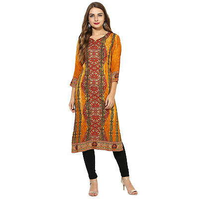 Indian Bollywood Designer Ethnic Dress Lagi new Stylish Printed Rayon Kurti