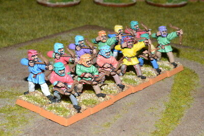 1/56 28mm DPS painted Ancient Later Persian Immortal Archers RC546
