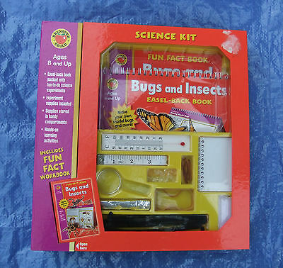 Bugs and Insects Science Kit (Brighter Child Science Kits) Hard-cover – May 2004