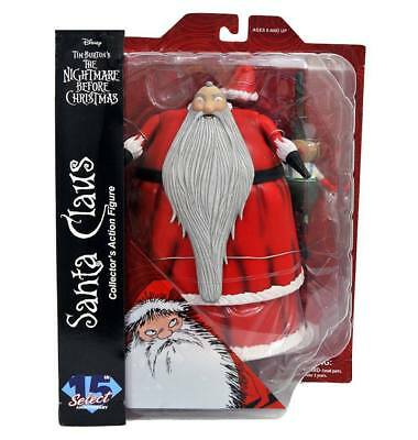 Nightmare Before Christmas Action Figures Select Santa Claus