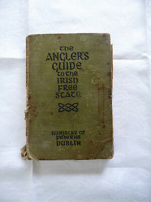 Vintage The Anglers Guide To The Irish Free State 1924