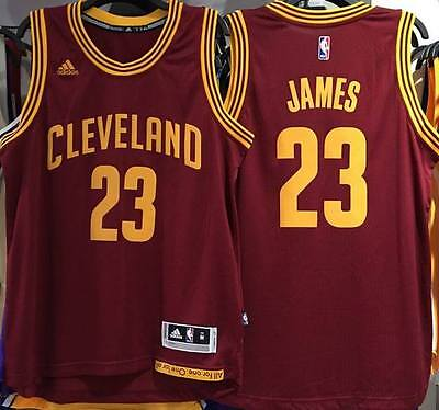 NBA Cleveland Cavaliers #23 LeBron James Jersey