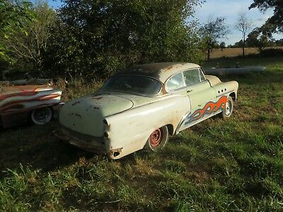 1953 Buick special all side swooping trim I have cool parts car or Rat rod may deliver lots of new parts purchased HAS potential