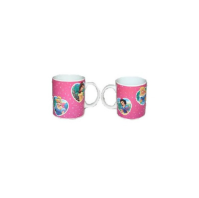 Mug Princesse Disney Rose & Coeur (C99)