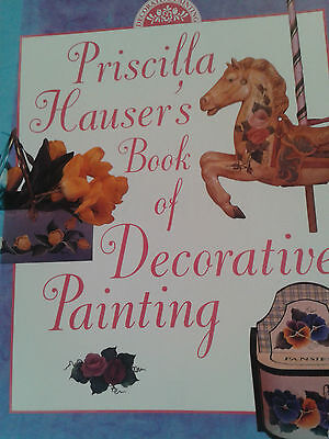Priscilla Hauser's Book Of Decorative Painting-144 Pages-