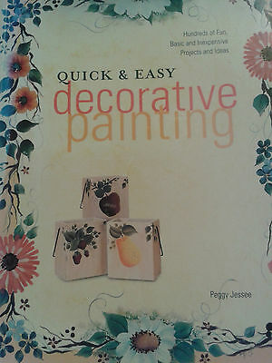 Decorative Painting Book By Peggy Jessee-Includes 128 pages-Flowers-Fruit Etc