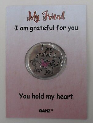 o My friend I am grateful for you hold my WILD HEART POCKET TOKEN CHARM ganz