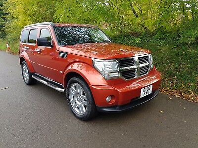 2008 Dodge Nitro Sxt Crd * Diesel Automatic 4X4 * Genuinly Must Be Seen* £4295