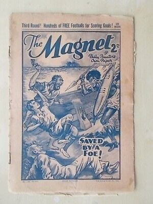THE MAGNET - BILLY BUNTER'S OWN PAPER - VINTAGE BOYS COMIC - OCTOBER 1st 1938
