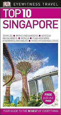 Top 10 Singapore by Dk Travel Paperback Book Free Shipping!