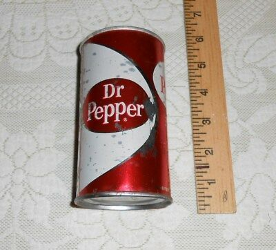 vintage 1960s DR. PEPPER  soda can from Dallas, TX